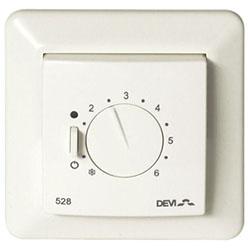 Терморегулятор DEVI Devireg 528 140f1042 для теплого пола (140F1043)