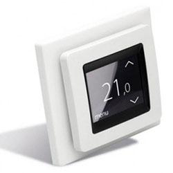 Терморегулятор Devireg Touch (140F1071) с комбинацией датчиков, полярно-белый