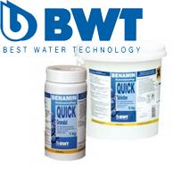 Специальные средства, химия для бассейнов BWT
