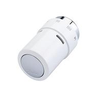 Термостатическая головка Danfoss серия RAX с жидкостным заполнением, хром/белый, артикул 013G6176