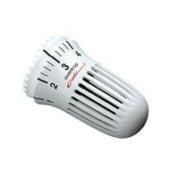 Термостатическая головка Oventrop Uni CH, артикул 1011265, белая, 7-28 С, без нулевой отметкой