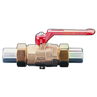"""Шаровой кран Oventrop Optibal с рычагом, для высокого давления (сварка-сварка) 1"""", артикул 1065508"""