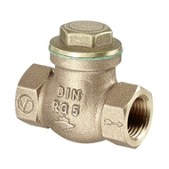 Обратный клапан Oventrop с прямой врезкой PN16 Ду 15, Арт. 1075004