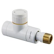 """Вентиль (термостатический клапан) Oventrop серия E (эксклюзивная) прямой Ду15 1/2"""", артикул 1163162, цвет белый"""