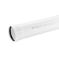 Труба канализационная REHAU RAUPIANO PLUS D 50/500 мм, арт. 11201141005