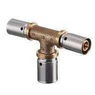 Пресс-тройник с увеличенным отводом Oventrop 16 х 20 х 16 мм, Арт. 1513454