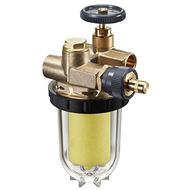 Фильтры жидкого топлива Oventrop Oilpur Siku (пластиковый) Ду 10, внутренняя резьба G 3/8, для двухтрубных систем (с перемычкой насос-фильтр ), арт. 2122261
