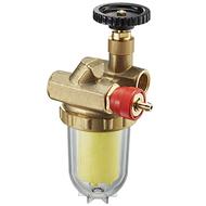 Фильтры жидкого топлива Oventrop Oilpur Siku (пластиковый) Ду 15, внутренняя резьба G 1/2, для двухтрубных систем (с перемычкой насос-фильтр ), арт. 2122262