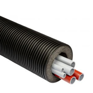 Шеститрубная система Thermaflex Flexalen 1000+ для отопления и водоснабжения FV+R160A4/20A2/25