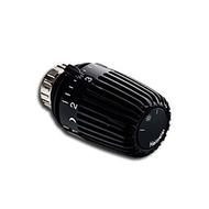 Heimeier Термостатическая головка К, Стандартная, 6-28°C, настройки 1-5, RAL9005 черный, 6000-00.507