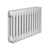 Стальной трубчатый радиатор Arbonia 3037, 1 секция, белый, 48 Вт, глубина 105 мм