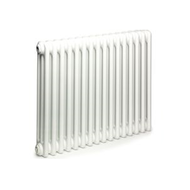 Стальной трубчатый радиатор Arbonia 3050, 1 секция, белый, 68 Вт, глубина 105 мм
