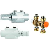 Запорная трубопроводная арматура для подключения полотенцесушителей Heimeier
