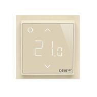 Терморегулятор DEVI DEVIreg™ Smart интеллектуальный с Wi-Fi, бежевый, 16А (140F1142)