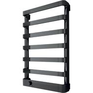 Полотенцесушитель IRSAP Step E 107/775/500 7 элементов электрический, хромированный, отделка черного, SEP050T 2E 01