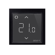 Терморегулятор DEVI DEVIreg™ Smart интеллектуальный с Wi-Fi, черный, 16А (140F1143)