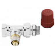 Клапан терморегулятора RA-NCX Ду 15 прямой хромированный, Danfoss 013G4248