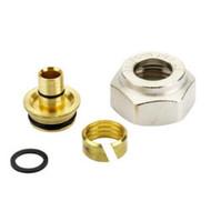 Компрессионный фитинг Danfoss внутренняя резьба G 3/4 для металлополимерных труб (ALUPEX) 16 x 2,2 мм, арт. 013G4187