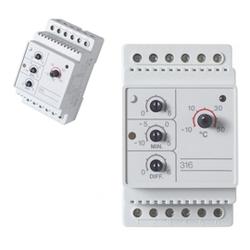 Терморегулятор Devireg 316, -10°C-+50°C с датч. пола (140F1075)