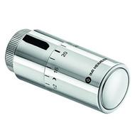 Heimeier Термостатическая головка Halo, жидкостный термостат, диапазон настройки 6-28°C, присоединение - M30x1,5, хром, 7500-00.501