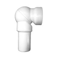 Отводящий патрубок HL для унитазов с бесступенчатой плавной настройкой, HL209.WE
