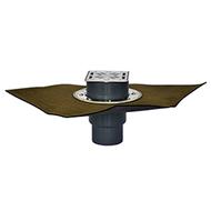 Трапы HL для балконов и террас с гидроизоляционным полимербитумным полотном HL3100TH