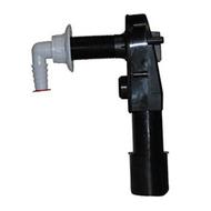 Встроенный сифон HL для стиральной или посудомоечной машины с обратным клапаном, с прочисткой, без защитного короба и декоративной пластины. HL400ECO