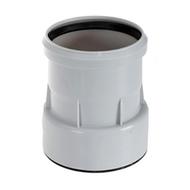 Переходник HL DN110/100 с поливинилхлорида (ПВХ), полипропилена (ПП) на чугун, свинец, сталь, HL9/1