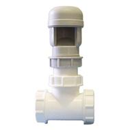 Воздушный клапан HL для невентилируемых канализационных стояков или длинных (более 4-х метров) горизонтальных трубопроводов, HL904T