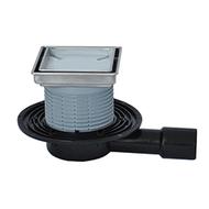 Трапы HL для балконов и террас с вкладышем для вклеивания керамической плитки HL90.2-3020