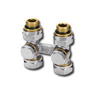 """Heimeier Клапан для нижнего подключения VEKOTEC, для двухтрубной системы, Rp 1/2"""", проходной, никел бронза, 0550-50.000"""