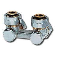 """Heimeier Клапан для нижнего подключения VEKOTEC, для двухтрубной системы, G 3/4"""", проходной, никел бронза, 0552-50.000"""