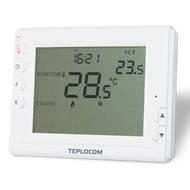 Проводной программируемый комнатный термостат TEPLOCOM TS-Prog-2AA/8A