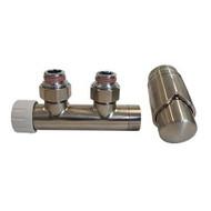 Комплект SCHLOSSER DUO-PLEX 3/4 х M22х1,5 сталь (проходной), арт. 602100037