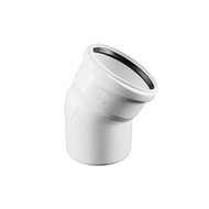 Отвод REHAU RAUPIANO PLUS диам. 50 на 45°, для канализационных труб, арт. 11211141001