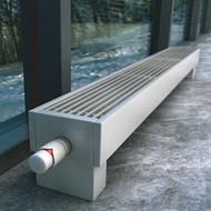 Напольный конвектор Varmann MiniKon Комфорт KFV 135.130.1000, напольный монтаж на готовый пол со встроенным термоклапаном