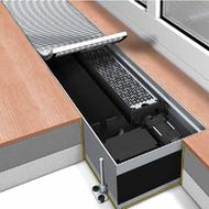 Конвектор встраиваемый в пол с вентилятором Mohlenhoff QSK EC 320-110-1250