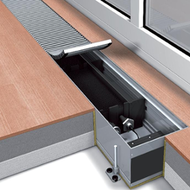 Конвектор электрического нагрева без вентилятора Mohlenhoff ESK 180-110-2000