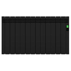 Электрический радиатор Rointe D Series со встроенным Wi-Fi, черный, 2000 Вт, 12 секции, DEB1600RAD