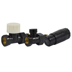 Комплект SCHLOSSER проходной DN15 GZ1/2 x GW1/2 с головкой Мини M30x1,5, 602200057