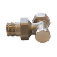 Клапан SCHLOSSER обратного потока угловой DN10 3/8 GZ x 3/8 GW, арт. 601300001