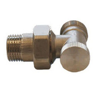 Клапан SCHLOSSER обратного потока угловой DN15 1/2 GZ x M22x1,5 GZ, арт. 601300006