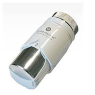 Термостатическая головка SCHLOSSER Ht Diamant Plus Белый-Хром, арт. 600100012