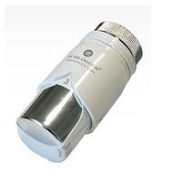 Термостатическая головка SCHLOSSER Dz Diamant Plus Белый-Хром, арт. 600100014
