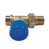 Клапан SCHLOSSER термостатический проходной DN15 GZ 1/2 x M22 x 1,5GZ, арт. 601200009