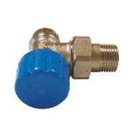 Клапан SCHLOSSER термостатический угловой DN15 GZ 1/2 x M22 x 1,5GZ арт. 601200010