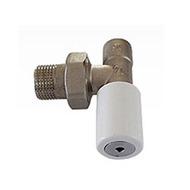 Ручной вентиль SCHLOSSER под пайку, угловой, DN 15 1/2 GZ * 15 mm, арт. 601400012