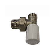 Ручной вентиль SCHLOSSER с наружной резьбой, угловой, DN15 1/2GZ* M22 1.5GZ, арт. 601400019