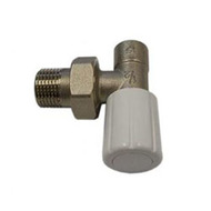 Ручной вентиль SCHLOSSER под пайку, угловой, DN15 1/2 GZ* 15mm, арт. 601400022