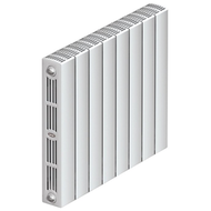 Монолитный биметаллический радиатор RIFAR SUPReMO 500, 1 секция